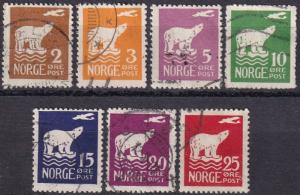 Norway #104-10  F-VF Used  CV $147.50