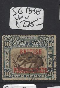 NORTH BORNEO (P1010B)   10C HONEY BEAR, BEE BP SG 134E  CDS  VFU