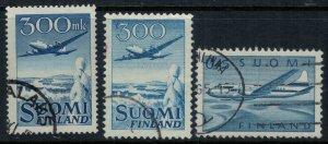 Finland #C3-5  CV $12.50