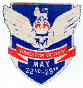 (I.B) Cinderella : Great War Flag Day (RFC Wings for Victory)