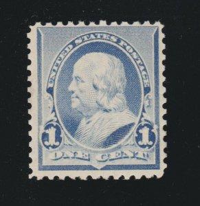 US 219 1c Franklin Mint F-VF OG LH SCV $20