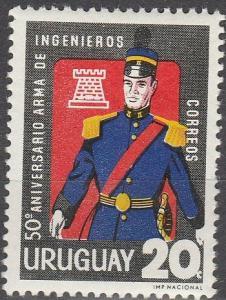 Uruguay #730 MNH F-VF (SU2278)