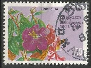 SRI LANKA, 1982, used 35c, Flowers, Scott 628