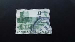 Great Britain 1988 British Castles £1 Used