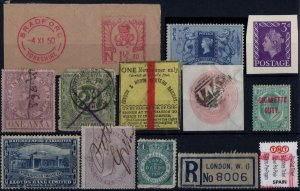 M017 - A Selection of Fiscal Labels & Stamps Unchecked Good Used
