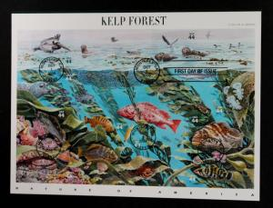 US Stamp Sheet #4423 (A3367)  First Day of -Issue Kelp Forest 2009