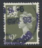 Great Britain Wales  SG W75 SC# WMMH62 Used  see details 2 band
