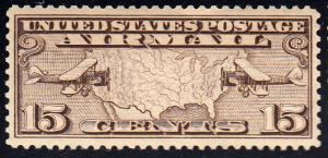 United States Scott C8 Mint never hinged with disturbed gum.