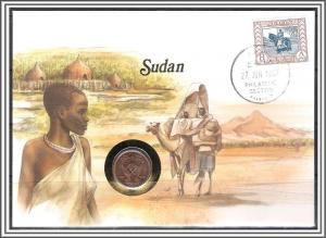 Sudan #111 Cover With Coin