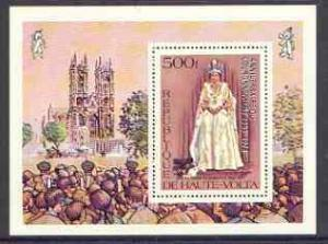 Upper Volta 1978 25th Anniversary of Coronation opt\'d on...