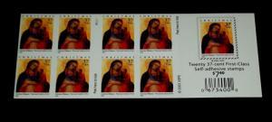 U.S.A. #3879A, 2004, CHRISTMAS BOOKLET PANE/20, P#P1111, MNH,NICE! LQQK!