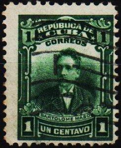 Cuba. 1910 1c S.G.320  Fine Used