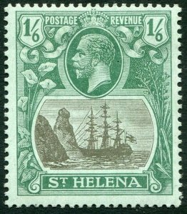 ST HELENA-1922-27 1/6 Grey & Green/Blue-Green Sg 93 MOUNTED MINT V33841