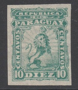 PARAGUAY An old forgery of a classic stamp..................................C173