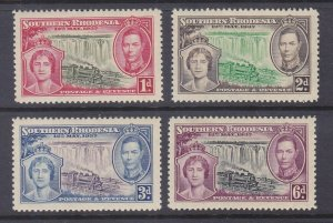 Southern Rhodesia 34-41 MNH OG 1937 Coronation of George VI & Elizabeth Full Set