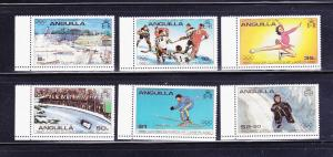 Anguilla 375-380 Set MNH Sports, Olympics