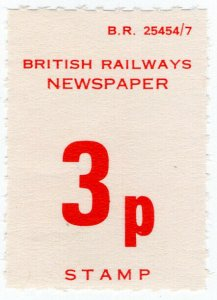 (I.B) British Railways Board : Newspapers 3p