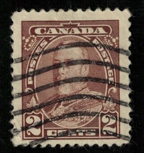 1935, King George V, Canada, 2 cents (T-6199)
