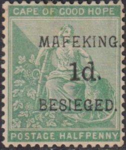Cape of Good Hope - Mafeking 1900 SC 162 Mint