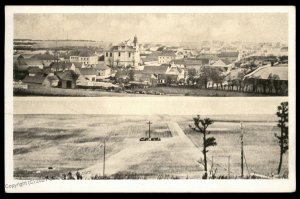 Czech Germany Destroyed Lidice Heydrich Reprisal Town View Bustehrad G90214