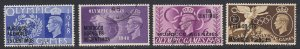 Great Britain Off. in Morocco, Sc 95-98 (SG 178-181), used