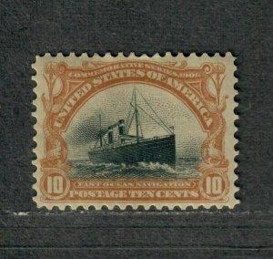 US Sc#299 M/HH/VF, Cv. $115