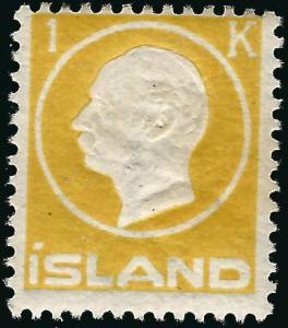 Mint Iceland 1912 #96 avg/Fine..Bargain!