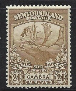 Newfoundland #125 OG VF a
