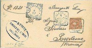 09482 - ITALIA REGNO: 1897 VICENZA - da VALLONARA a POZZOLEONE