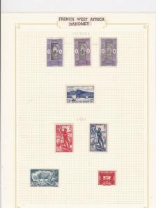 French West Africa Stamps Ref 14593