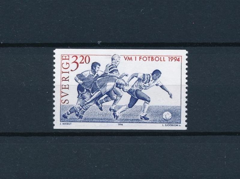 [59563] Sweden 1994 World Cup Soccer Football USA from set MNH