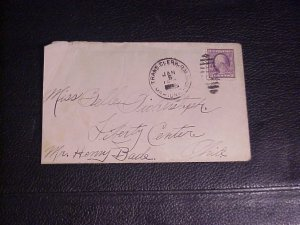 1935 COVER WITH SCOTT 501 3 CENT WASHINGTION STAMP