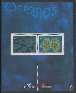 Portugal 2200 Marine Life Souvenir Sheet MNH VF