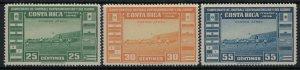 Costa Rica #C121-3*  CV $6.00