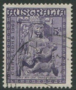 AUSTRALIA 1962 - 5d USED