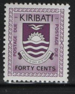 Kiribati, J7, MNH, 1981, Natl. arms