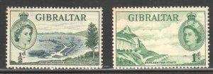GIBRALTAR #132 to 145 VF Mint NH - RARE Set C$190.55