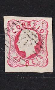 PORTUGAL [1862] MiNr 0014 ( O/used ) [02]