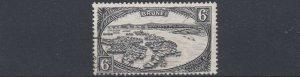 BRUNEI  1947 - 51  S G  83    6C  BLACK USED
