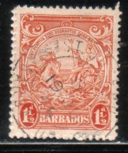 Barbados  #195 (U)  CV $0.65