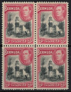Bermuda #121* NH Block of 4  CV $64.00+
