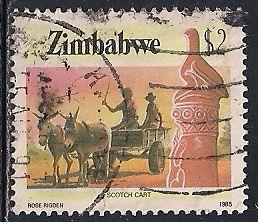 Zimbabwe 513 Used - Scotch Cart