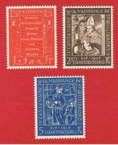 Luxembourg #334-346  MNH OG  Willibrord   Free S/H