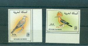 Morocco - Sc# 693-4. 1989 Birds. MNH $1.70.