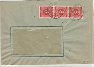 German Postal History Stamps Cover Ref: R4630