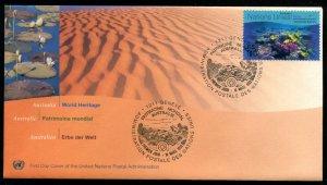 333-334 UN - Geneva World Heritage Australia OFDC