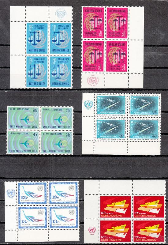 United Nations -  stamp collection - MNH