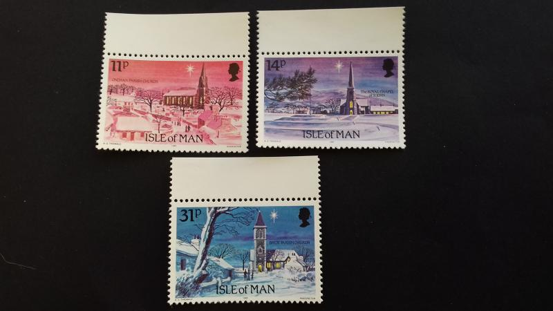 Isle of Man 1985 Christmas stamps Mint
