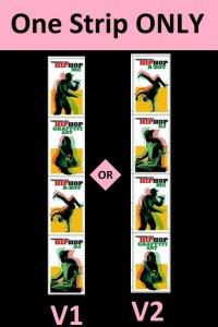 US 5480-5483 5483a Hip Hop forever strip set (4 stamps) MNH 2020 after 7/15