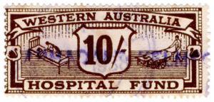 (I.B) Australia - Western Australia Revenue : Hospital Fund 10/-
